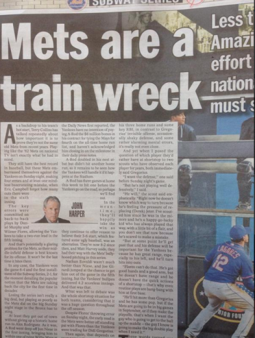Mets Train Wreck